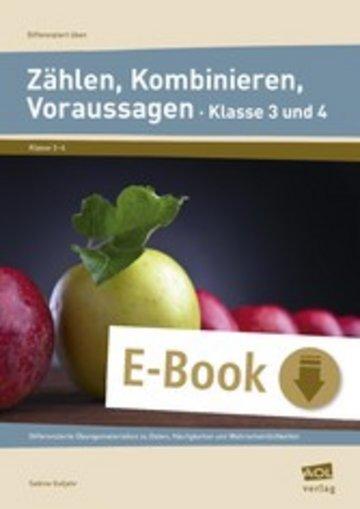 eBook Zählen, Kombinieren, Voraussagen - Klasse 3 und 4 Cover