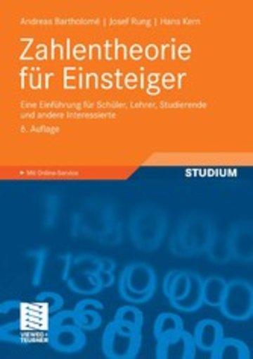 eBook Zahlentheorie für Einsteiger Cover