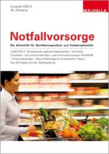 eBook Zeitschrift Notfallvorsorge Heft 03/2013 Cover