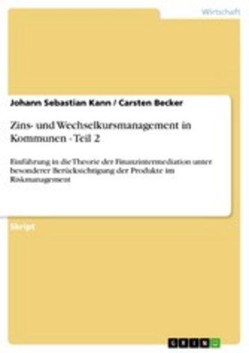 eBook Zins- und Wechselkursmanagement in Kommunen - Teil 2 Cover