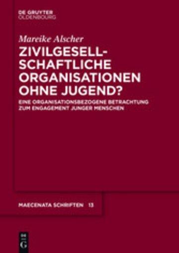 eBook Zivilgesellschaftliche Organisationen ohne Jugend? Cover