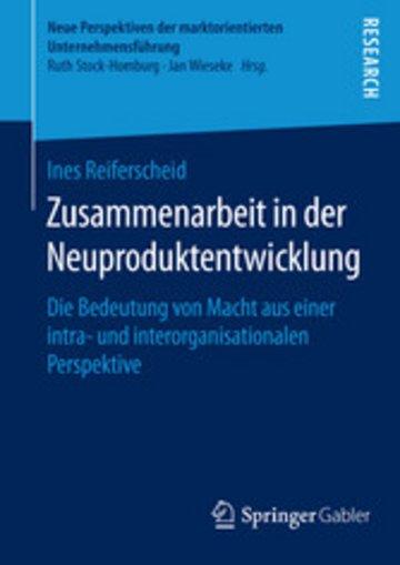 eBook Zusammenarbeit in der Neuproduktentwicklung Cover