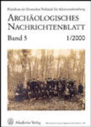 Archäologisches Nachrichtenblatt