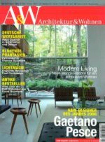 A W Architektur Wohnen Fachzeitschrift Innenausbau