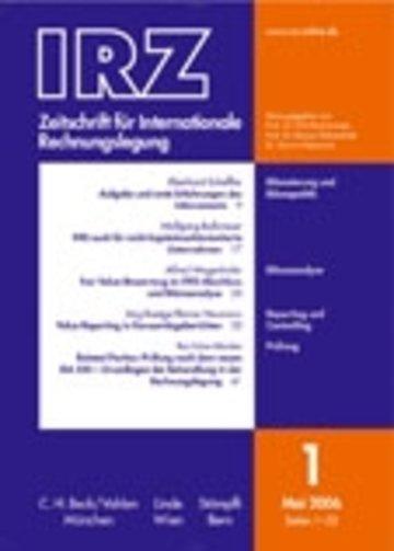 IRZ - Zeitschrift für Internationale Rechnungslegung