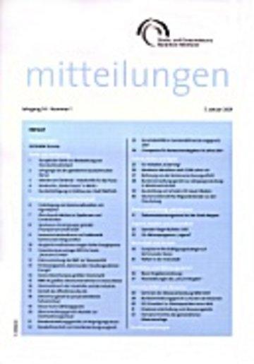 Mitteilungen Städte- und Gemeindebund NRW