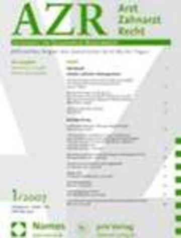 AZRT Arzt Zahnarzt / Recht