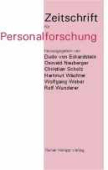 Zeitschrift für Personalforschung