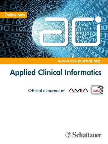 ACI - Applied Clinical Informatics