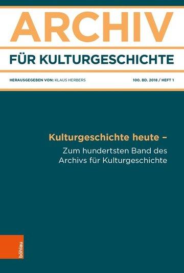 Archiv für Kulturgeschichte