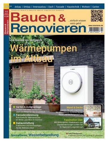 Bauen & Renovieren Fachzeitschrift | Heimwerker - Werkzeuge ...