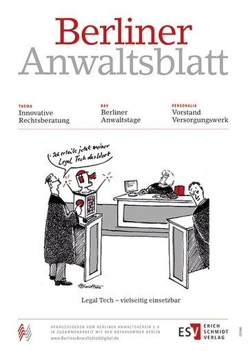 Berliner Anwaltsblatt