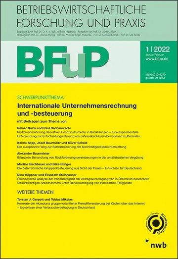 Betriebswirtschaftliche Forschung und Praxis (BFuP)