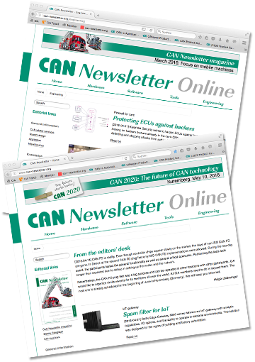 CAN Newsletter Online