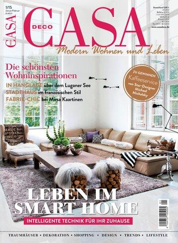Casa Deco Fachzeitschrift | Haus - Garten - Lifestyle - Wohnen