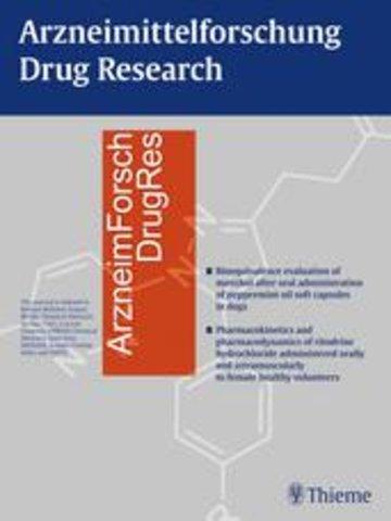 Arzneimittel Foschung/Drug Research