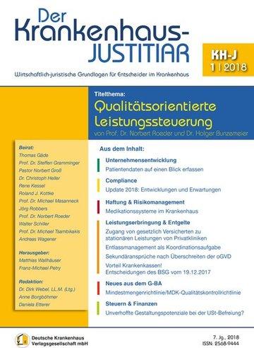 Der Krankenhaus-Justitiar
