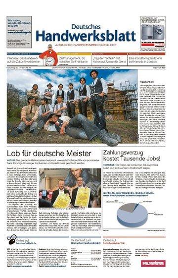 Deutsches Handwerksblatt Gesamt