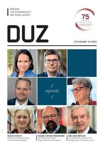 DUZ - Magazin für Wissenschaft und Gesellschaft