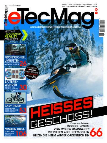 eTecMag - Europas erstes Magazin für elektromobilen Lifestyle