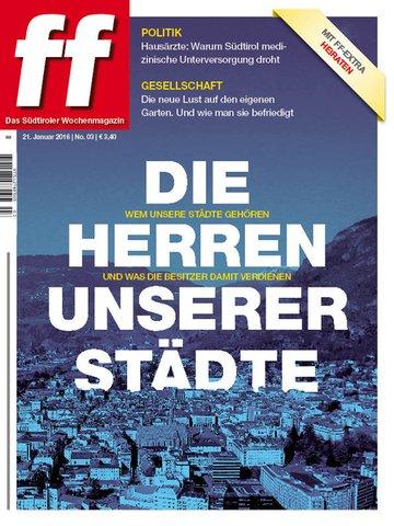 ff Das Südtiroler Wochenmagazin