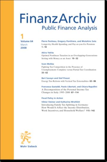 Finanzarchiv (FA)