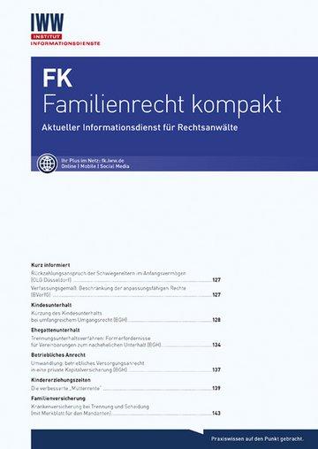 FK Familienrecht kompakt