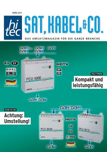 hitec SAT, KABEL & CO.