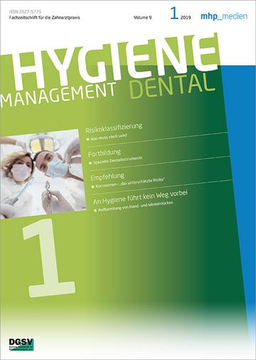 Hygienemanagement (früherAufbereitung in der Praxis)
