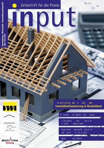 input - Zeitschrift für die Praxis (Verwaltung - Wirtschaft - Immobilienwirtschaft)