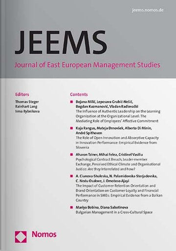 Journal of East European Management Studies (JEEMS)