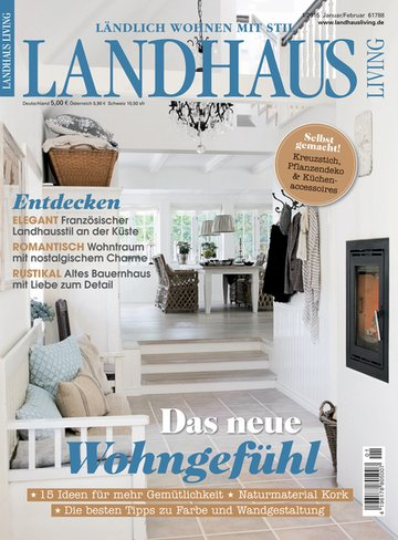 landhaus living fachzeitschrift haus garten. Black Bedroom Furniture Sets. Home Design Ideas