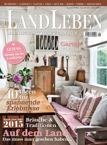 Schönes Landleben Zeitschrift landleben fachzeitschrift zu hause wohnraum