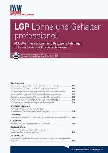 LGP Löhne und Gehälter professionell