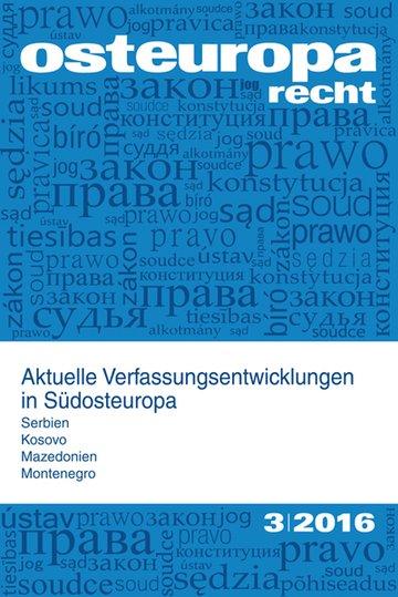 Osteuropa Recht