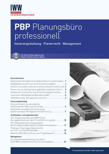 PBP Planungsbüro professionell