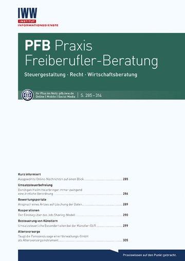PFB Praxis Freiberufler-Beratung