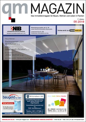 qm MAGAZIN - Das Immobilienmagazin für Bauen, Wohnen und Leben in Franken