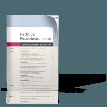 Recht der Finanzinstrumente (RdF)