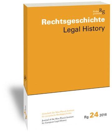 Rechtsgeschichte (Rg)