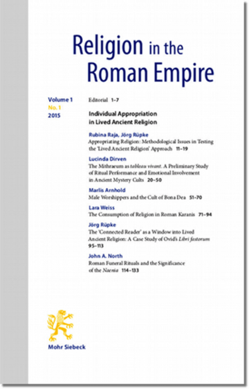 Religion in the Roman Empire (RRE)