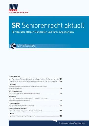 SR Seniorenrecht aktuell
