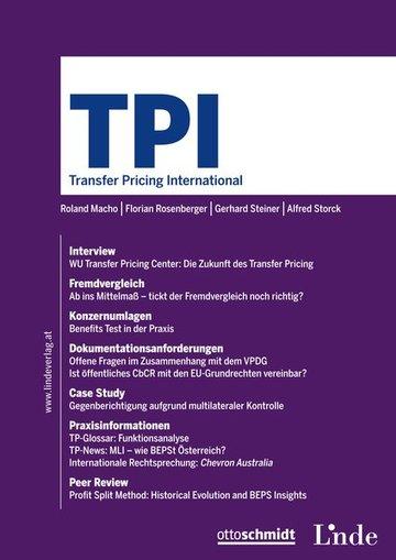 TPI Transfer Pricing International