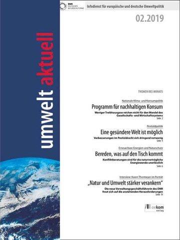 umwelt aktuell – Die Zeitschrift für Umweltpolitik aus Deutschland und Europa
