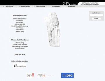 Göttinger Forum für Altertumswissenschaft