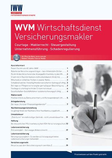 WVM Wirtschaftsdienst Versicherungsmakler