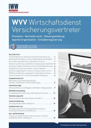 WVV Wirtschaftsdienst Versicherungsvertreter