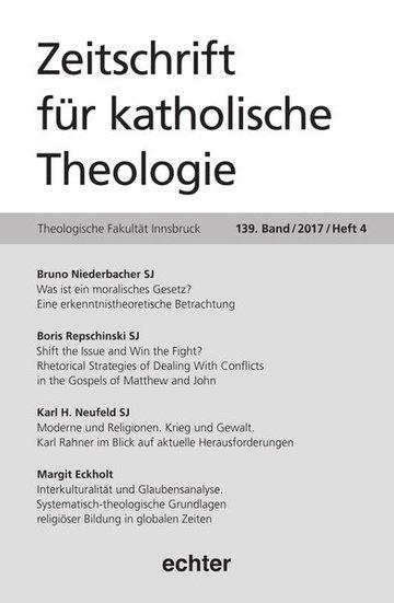 Zeitschrift für katholische Theologie