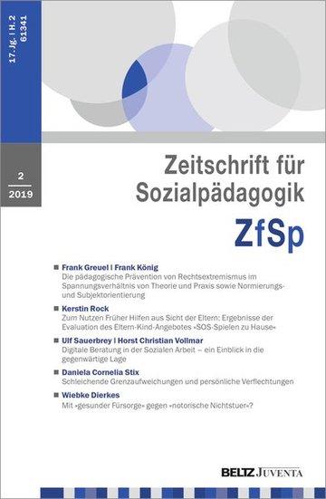 Zeitschrift für Sozialpädagogik - ZfSp