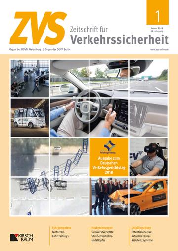 Zeitschrift für Verkehrssicherheit